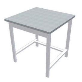 Tavolo di supporto per cappa dim.mm. 800x800x830 h.