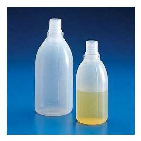 Bottiglia polietilene ml 100, collo vite gl 18