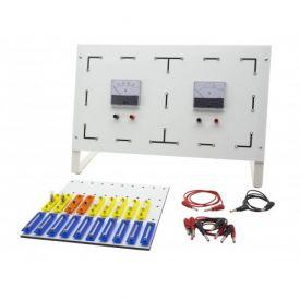 Complesso per esperienze sui circuiti elettrici