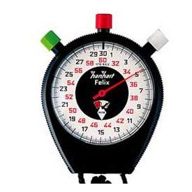 Cronometro Felix cassa in ABS 10 min. Divisione 1/5 di Secondo