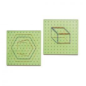 Geopiano doppia faccia 22x22x2h cm