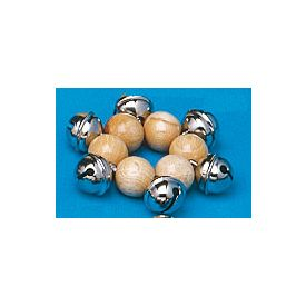 Bracciale in legno 6 campanelli