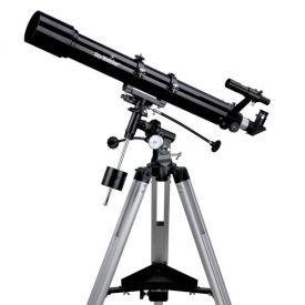 Telescopio SkyWatcher 90/900 Rifrattore con montatura equatoriale EQ2