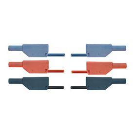 Set di 15 cavi di sicurezza per esperimenti, 75 cm