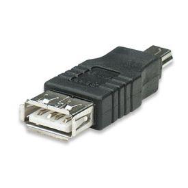 ADATTATORE USB A F A MINI USB 5 PIN