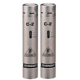 Microfoni a condensatore cardioide da studio canna fucile, coppia BEHRINGER C-2