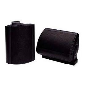 Coppia di diffusori neri 70W