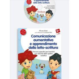 Comunicazione aumentativa, appr. letto-scrittura (libro + CD-ROM)