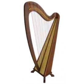 Arpa celtica 34 corde lavorata a mano