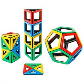 POLYDRON MAGNETICI - NUOVE FORME (48 PEZZI)