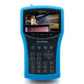 Misuratore DVB-T+SAT, Analizzatore di spettro, SCR
