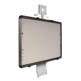 Supporto a parete manuale per LIM/Proiettore ottica ultracorta