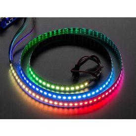 Striscia LED NeoPixel RGB Digitale 144 LED - 1m nera