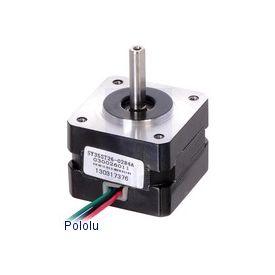 Motore Stepper: Bipolar, 200 Steps/Rev, 35×26mm, 7.4V, 0.28 A/Phase
