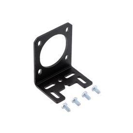 PololuStamped Aluminum L-Bracket for NEMA 14 Stepper Motors