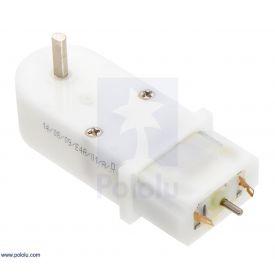 Solarbotics GM2 224:1 Gear Motor Offset Output