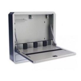 Armadietto Plus - Box di sicurezza per notebook e accessori per LIM - Grigio