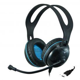 Cuffie con microfono EDU-455 over-ear stereo USB