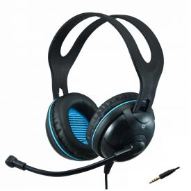 Cuffie con Microfono EDU-455M over-ear stereo con jack singolo per notebook/tablet