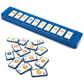 Lettore tasselli per programmare Blue-Bot e Rugged robot (25 tasselli)