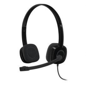 Logitech Stereo H151 - Cuffie con microfono (jack 3.5 singolo)