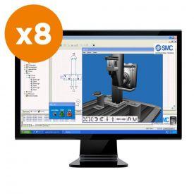 Modulo aggiuntivo simulazione 3D serie MAP - 8 licenze