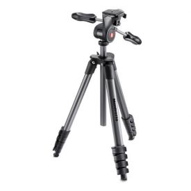 TREPPIEDE MANFROTTO COMPACT ADVANCED BLACK