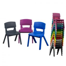 Sedia impilabile Postura Plus