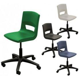 Sedia girevole con ruote Postura Plus Task chair