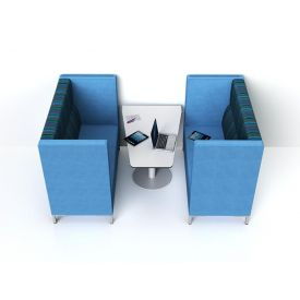 Zioxi tavolo alto Wedge 120x60x72h (HPL)