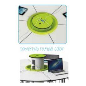 Rondella per PowerHub Zioxi, colore Verde diam. 46 cm (collare per HUB)