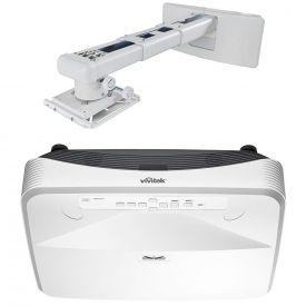 Videoproiettore Vivitek DH765Z-UST ottica ultracorta laser DLP Full HD con staffa parete