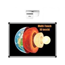 """CampusBoard LIM 87"""" multi-touch (10 tocchi) con DLP ottica ultra-corta"""