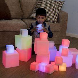 Cubi luminosi sensoriali