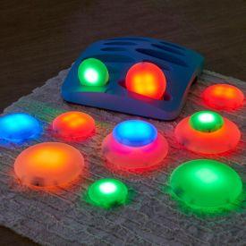 Ciottoli luminosi sensoriali