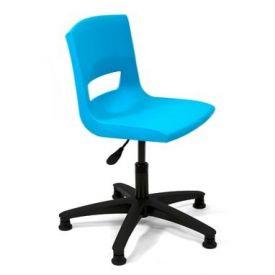 Sedia girevole fissa Postura Plus Task chair - INK BLUE