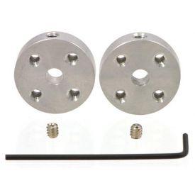 Universal Aluminum Mounting Hub for 4mm Shaft, #4-
