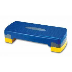Aerobic step in plastica, altezza regolabile