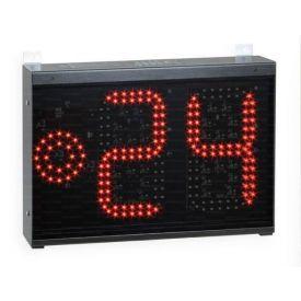 Tabellone indicatore di 24 secondi con la visualizzazione del timer