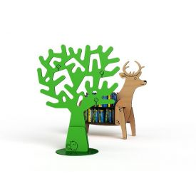 Zioxi Animal Shelf - Cervo - col. Faggio