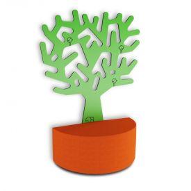 Divisorio Zioxi Fruit Tree con seduta semicircolare