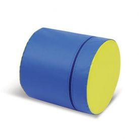 Cilindro morbido diametro 30x90H cm - similpelle