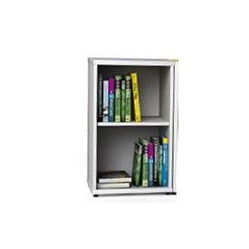 Armadietto singolo porta libri senza ante Reading Nook 45x45x76H cm