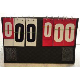 Segnapunti da tavolo con numerazione da 0 a 199 monofacciale e segnalazione time-out
