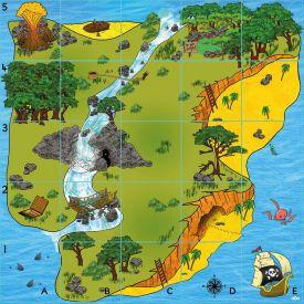 Percorso per Bee-Bot e Blue-Bot: l'isola del tesoro