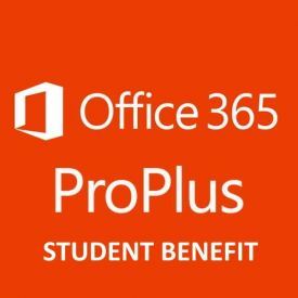 Microsoft Office 365 ProPlus - Licenza 1 anno Student Benefit Education (per dipendente)