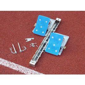 Blocco di partenza mod. competition blocchi alluminio