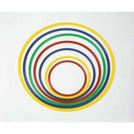Cerchio in nylon colorato sezione piatta - 60 cm