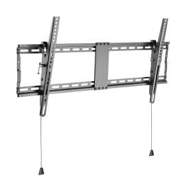 Staffa a muro inclinabile TV LED LCD 43-90'' robusta e pieghevole (con sicurezza)