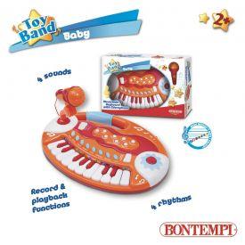 Bontempi Tastierina da tavolo 18 tasti con microfono - Confezione aperta